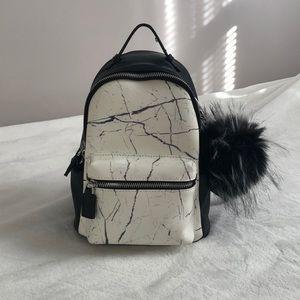 Handbags - Black & White design backpack